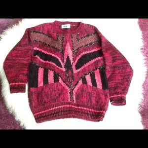 Diana Marco ladies vintage sweater size M